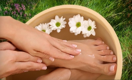 Pure Bliss Day Spa: 90-Minute Manicure and Pedicure - Pure Bliss Day Spa in Jupiter
