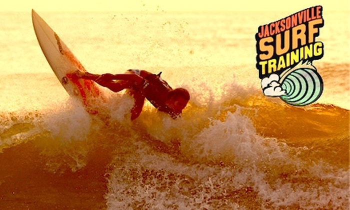 Jacksonville Surf Training - Jacksonville Beach: $35 for a 90-Minute Group Beginners' Surfing Lesson at Jacksonville Surf Training ($65 Value)