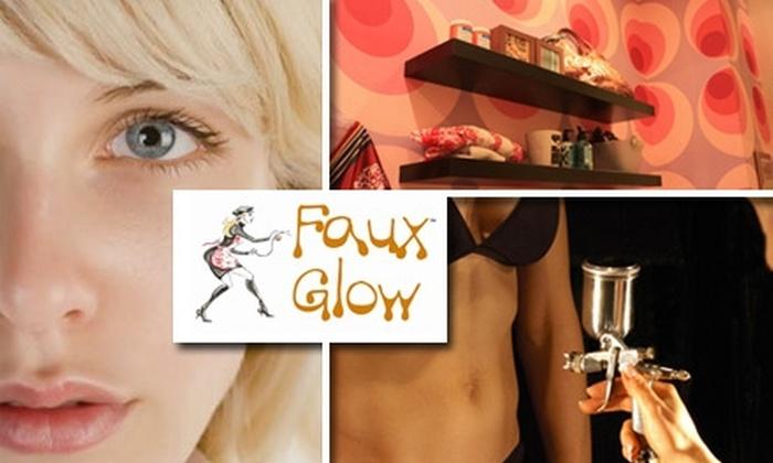 Faux Glow - Upper East Side: $29 Half-Body Spray Tan at Faux Glow ($58 Value)