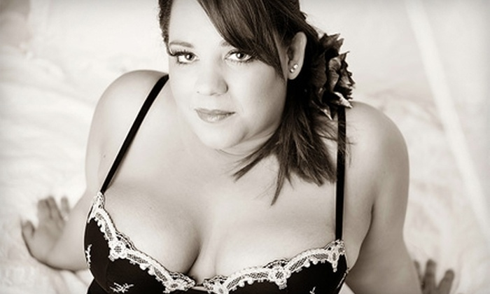 Behind Closed Doors at Memory Lane Portrait Boutique - Elkhart: $49 for a Boudoir Photo Shoot and Photograph Book or a Print Credit from Behind Closed Doors at Memory Lane Portrait Boutique ($150 Value)