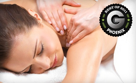 Spa Package with a 50min Signature Hot-Stone Massage and a 30min Infrared-Sauna Session (a $79 total value) - The Body Shop Massage & Day Spa in Chandler