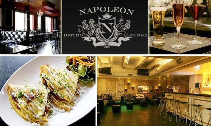 Napoleon Bistro - Adams Morgan: $10 for $25 at Napoleon Bistro & Lounge