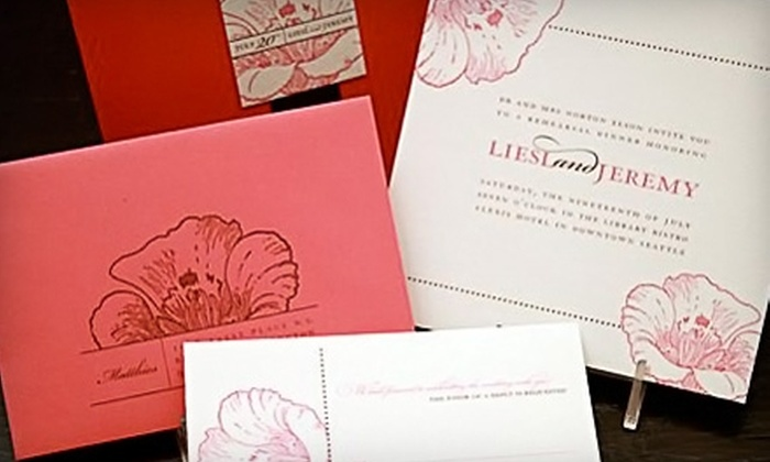 Sugar Press Invitations and Stationery - Tustin: $20 for $40 Worth of Stationery, Gifts, and Cards at Sugar Press Invitations and Stationery in Tustin