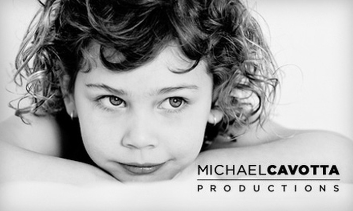 Michael Cavotta Productions - Mentor: $185 for a Digital Headshot ($375 Value) or $750 for an Heirloom Portrait ($1,500 Value) at Michael Cavotta Productions in Mentor