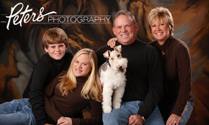 """Peters Photography - Multiple Locations: $49 for One Theme Photo Shoot and a 10""""x15"""" Print at Peters Photography (Up to $350 Value)"""