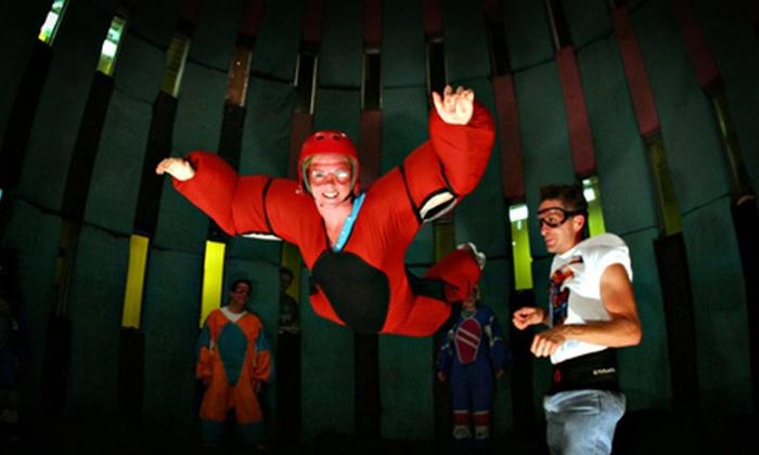 Flyaway Indoor Skydiving - Pigeon Forge: Indoor-Skydiving Packages for Up to Five at Flyaway Indoor Skydiving in Pigeon Forge (Up to Half Off)