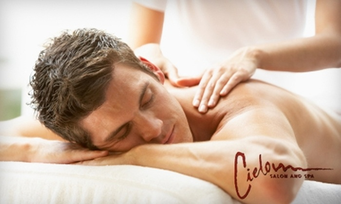 Cielo Salon and Spa - Henderson: $39 for 60-Minute Signature Massage ($85 Value) or $25 for Ionic Detox Footbath ($50 Value) at Cielo Salon and Spa in Henderson