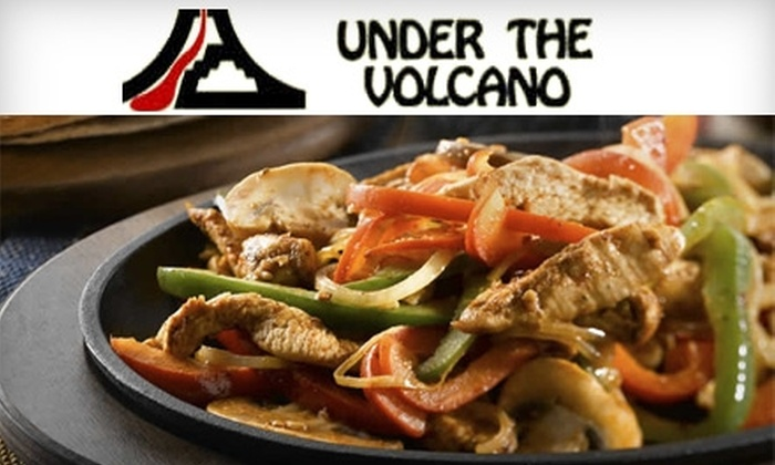 Under the Volcano - Central London: $12 for $25 Worth of Mexican Cuisine and Drinks at Under the Volcano