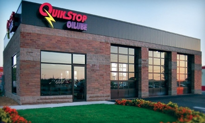 QuikStop Oilube - Multiple Locations: $18 for a Full-Service Oil Change at QuikStop Oilube ($35.99 Value)