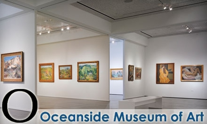 Oceanside Museum of Art - Townsite: $6 for Two Adult Admissions to the Oceanside Museum of Art (Up to $16 Value)