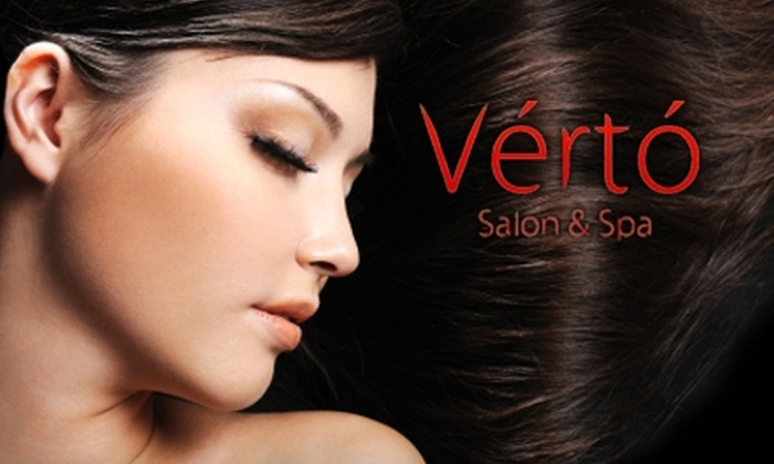 Verto Salon - Goose Island: $25 for a Women's or Men's Cut and Style or Express Facial at Verto Salon (Up to $75 Value)