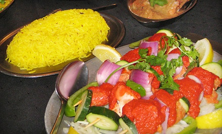 $25 Groupon for Indian Fare during Dinner - Curry's in London