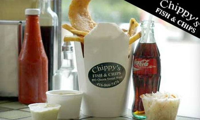 Chippy's Fish & Chips - The Annex: $15 for $30 Worth of Fare and Drinks at Chippy's Fish & Chips. Choose Between Two Locations.