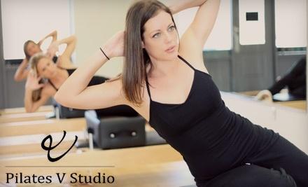 Pilates V Studio: 5 Semi-Private Pilates Apparatus Classes - Pilates V Studio in Charleston