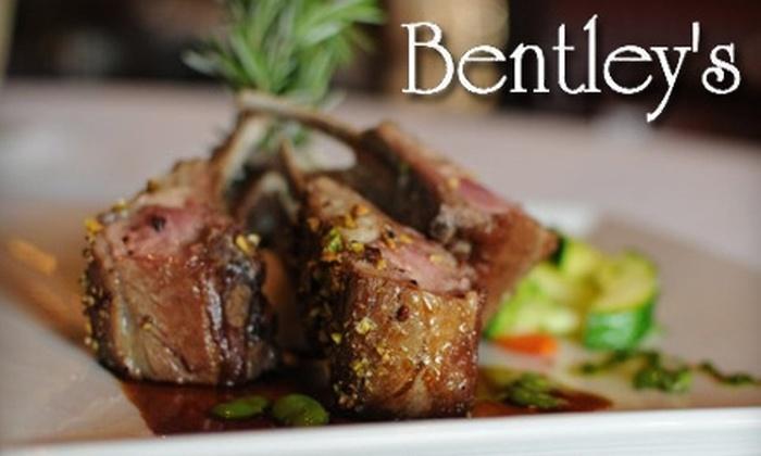 Bentley's - Van Ness Extension: $10 for $20 Worth of Dinner and Drinks, or $7 for $15 Worth of Lunch and Drinks at at Bentley's