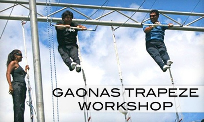 Richie Gaona's Trapeze Workshop - Woodland Hills: $30 Trapeze Class at Richie Gaona's Trapeze Workshop in Woodland Hills