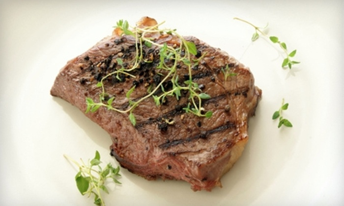 Woodys Steakhouse - Nashville-Davidson metropolitan government (balance): $12 for $25 Worth of Steaks, Seafood, and More at Woody's Steakhouse in Madison