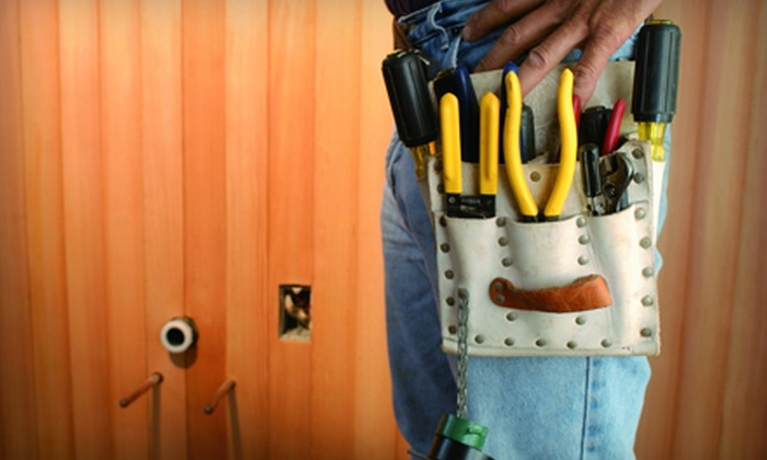 Renovation Plus - Carmel: Two or Four Hours of Handyman Services from Renovation Plus (Up to 54% Off)