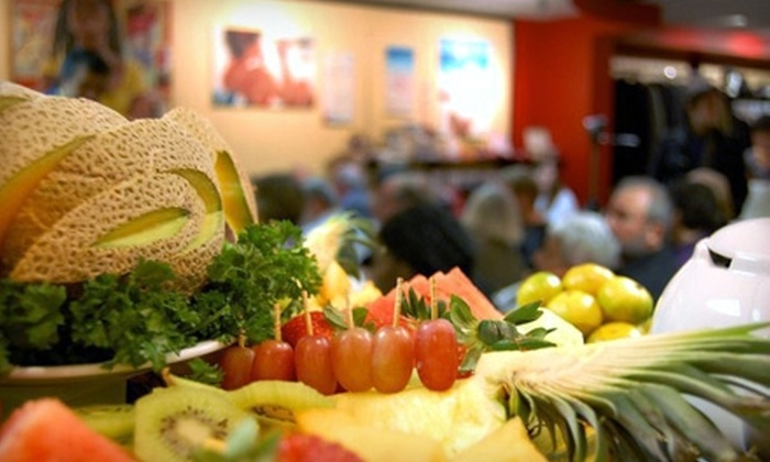 The Well - Downtown: $6 for $12 Worth of Café Fare and Apparel at The Well