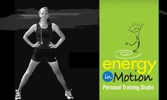 Energy in Motion  - Flowood: $55 for Four Personal-Training Sessions at Energy in Motion in Flowood ($260 Value)