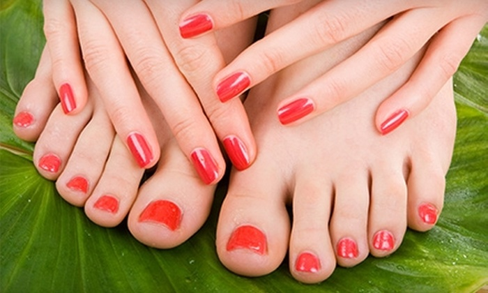 Giabonni's Salon - Noank: Hair and Nail Salon Services at Giabonni's Salon in Noank (Up to $56 Value). Three Options Available.