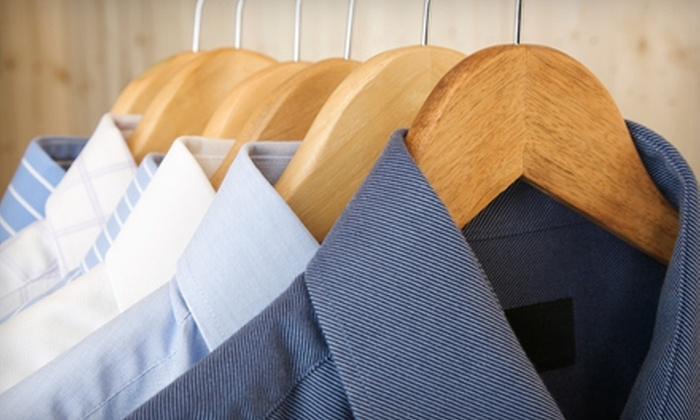 Amazing Dry Cleaners - Multiple Locations: $12 for $25 Worth of Dry-Cleaning Services with Pickup and Delivery from Amazing Dry Cleaners