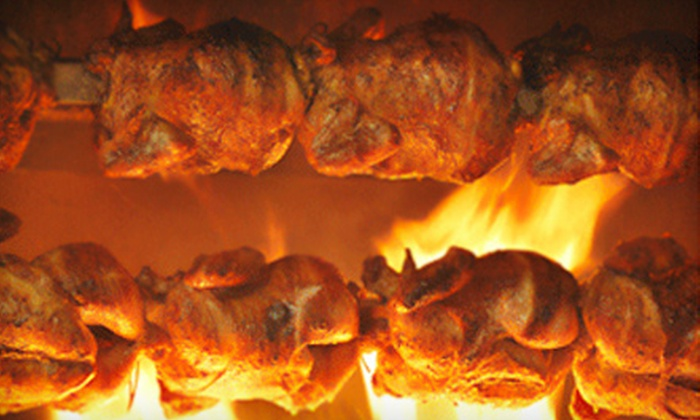Kickin' Chicken - Rockville: $7 for $14 Worth of Rotisserie Chicken and Peruvian Fare at Kickin' Chicken in Rockville