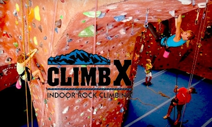 ClimbX Indoor Rock Climbing - Huntington Beach: $45 for Two Introductory Climbing Technique Classes, Two Months of Unlimited Climbing, and Complete Equipment Rental from ClimbX Indoor Rock Climbing (Up to $265 Value)