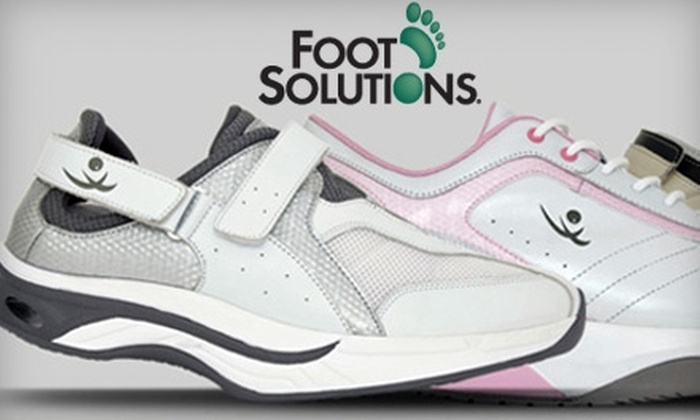 Foot Solutions - Roswell: $49 for $100 Toward Footwear or $180 for a Pair of Custom Orthotic Insoles ($400 Value) at Foot Solutions in Roswell
