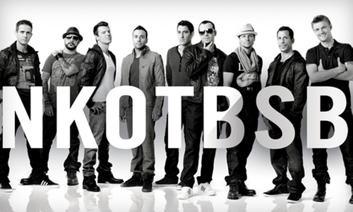 New Kids on the Block and Backstreet Boys at the BOK Center - Downtown Tulsa: One Ticket to See New Kids on the Block and Backstreet Boys at the BOK Center on July 17 at 7:30 p.m. Three Options Available.