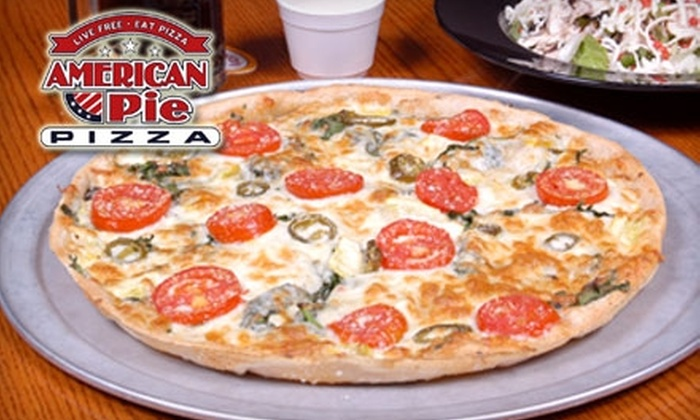 American Pie Pizza - Multiple Locations: $5 for $10 Worth of Pizza and More at American Pie Pizza