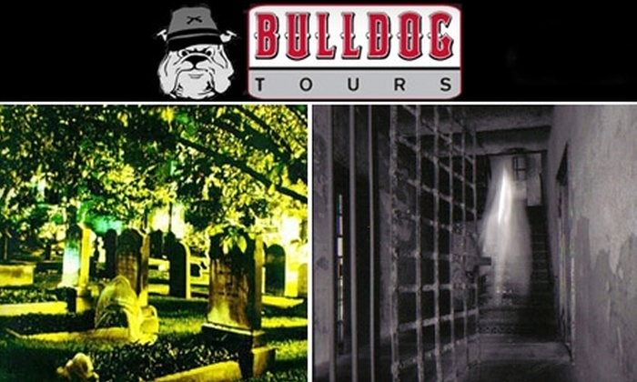 Bulldog Tours - Multiple Locations: $16 for Admission for Two to a Haunted Walking Tour from Bulldog Tours ($32 Value)
