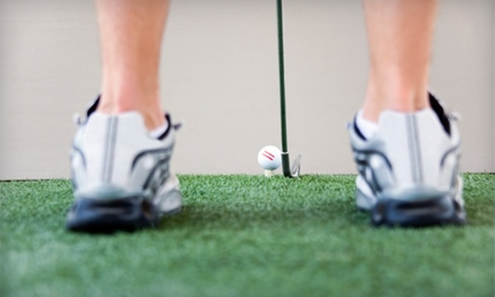 Alaska Golf Shot - Anchorage: $15 for One Hour of Indoor Golf Simulation at Alaska Golf Shot in Wasilla ($30 Value)