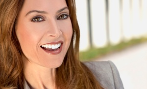Pearly Whites Express: 20-, 30-, or 40-Minute Teeth-Whitening and Whitening Pen at Pearly Whites Express (Up to 71% Off)