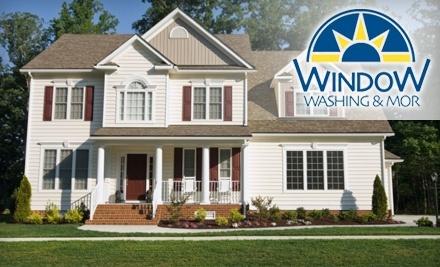 Window Washing & Mor: Exterior Window Washing - Window Washing & Mor in