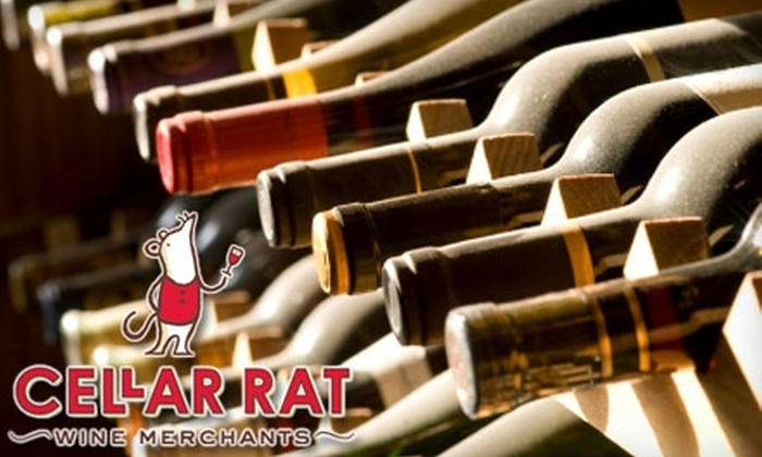 Cellar Rat Wine Merchants - Crossroads: $40 for a Socially Cultivating Wine Class for Two at Cellar Rat Wine Merchants