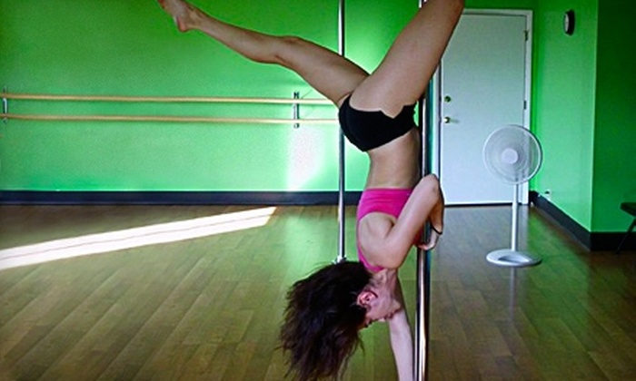 Dance Alley - Lexington-Fayette: $10 for One Drop-In Pole-Dance Class ($20 Value) or $60 for Four-Week Unlimited Package ($120 Value) at Dance Alley