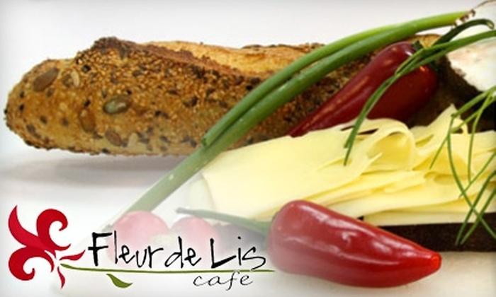 Fleur de Lis Cafe - Deer Park: $15 for $30 Toward American Dinner at Fleur de Lis Cafe (or $10 for $20 Toward Breakfast or Lunch)