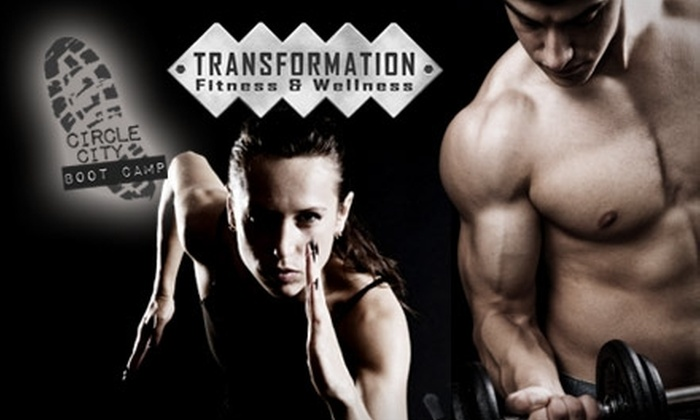Transformation Fitness and Wellness - Multiple Locations: $39 for Eight Circle City Boot Camp Classes from Transformation Fitness and Wellness ($136 Value)