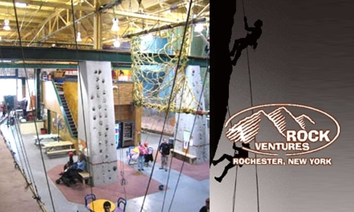 RockVentures - Atlantic-University: $22 for an Introductory Deluxe Climbing Course at RockVentures ($45 Value)