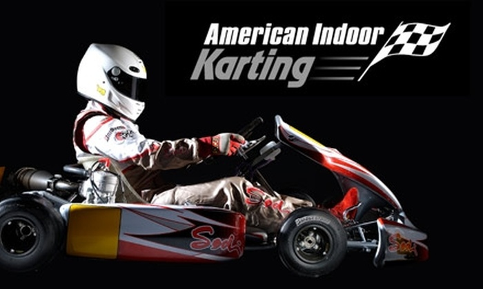 American Indoor Karting - Fredericksburg: $25 for Five Races and a One-Year Membership at American Indoor Karting ($80 Value)
