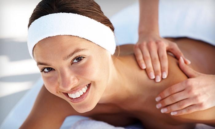 Julianna & Dane Salon and Spa - Lower Greenville: 50-Minute Massage, 60-Minute Body Wrap, or Massage and Body Wrap at Julianna & Dane Salon and Spa (Up to 61% Off)