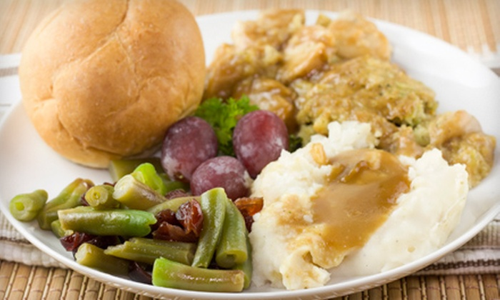 Applause Catering + Events - Kentwood: Holiday Meal with Turkey, Sides, and Dessert for 4, 8, or 12 from Applause Catering + Events (Up to 67% Off)