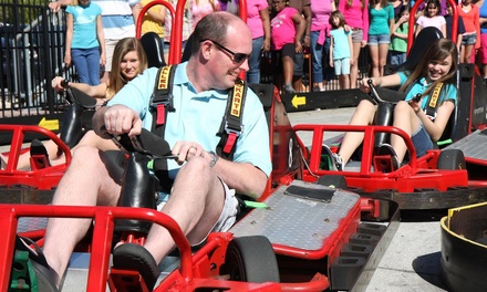 All-Day Amusement-Park Visit for Two or Four at Magical Midway (Up to 39% Off)