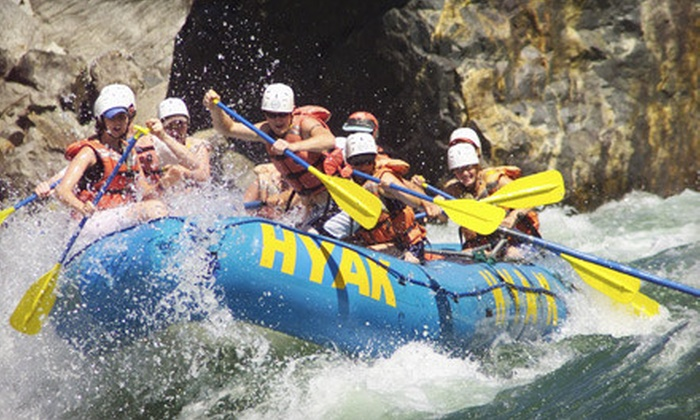 Hyak River Rafting - Multiple Locations: $86 for a 4.5-Hour Paddle- or Power-Rafting Day Trip, With Lunch, on Chilliwack or Thompson River from Hyak River Rafting in Burnaby (Up to $171.35 Value)