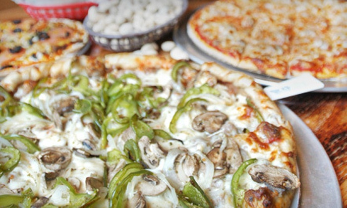 Nick's Pizza & Pub - Multiple Locations: $15 for $30 Worth of Pizza and Sandwiches at Nick's Pizza & Pub