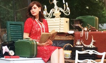 Three-Day Pass to The Vintage Peddler for Two or Four on September 26–28 (Up to 53% Off)