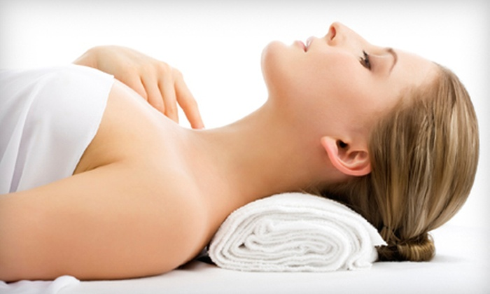 Desert Sky Healing - University Manor: Hydrating Body Wrap with Scalp and Facial Massage or Hydration Synergy Treatment with Exfoliation and Body Massage at Desert Sky Healing in Mesa (Half Off)