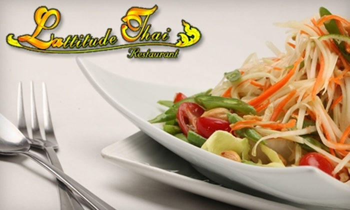 LAttitude Thai - Ocean Park: $10 for $20 Worth of Thai Fare at LAttitude Thai in Santa Monica
