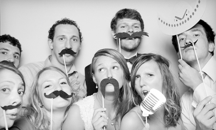 Cleveland Photo Booth Company - Seven Hills: $350 for a Four-Hour Photo-Booth Rental from Cleveland Photo Booth Company ($700 Value)